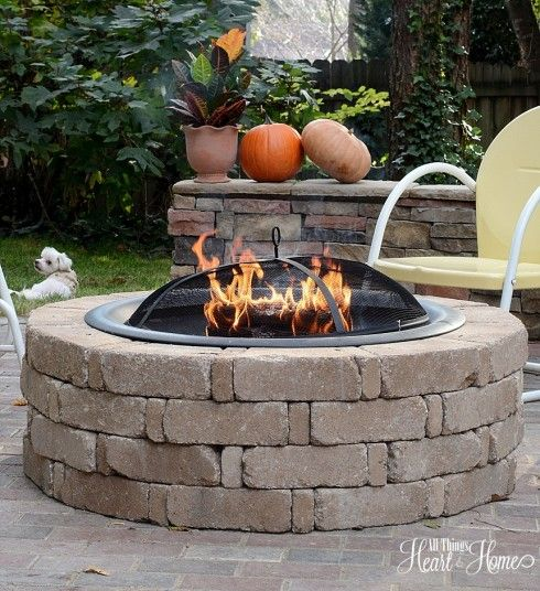 fire pit  all things heart and home