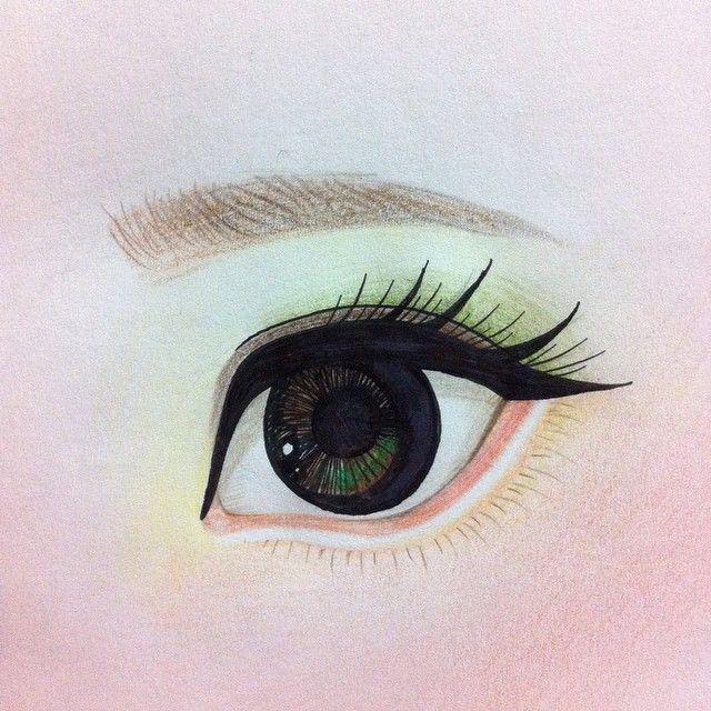 19 отметок «Нравится», 1 комментариев — bunnybear(곰토끼) (@bunnybeardolls) в Instagram: «Study #eye»