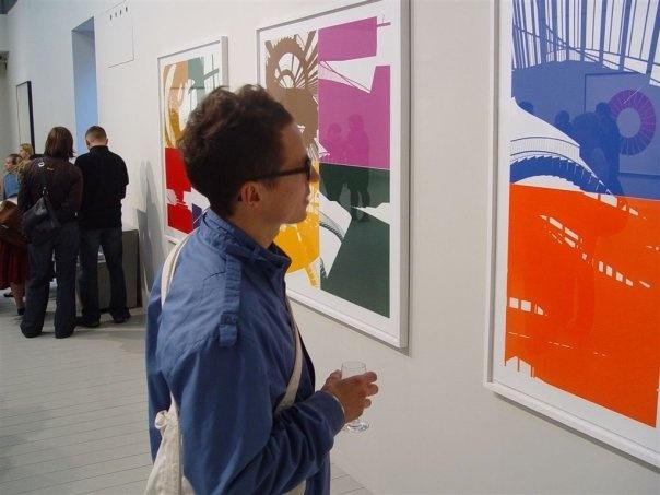 Wystawa Olafura Eliassona / Olafur Eliasson's exhibition
