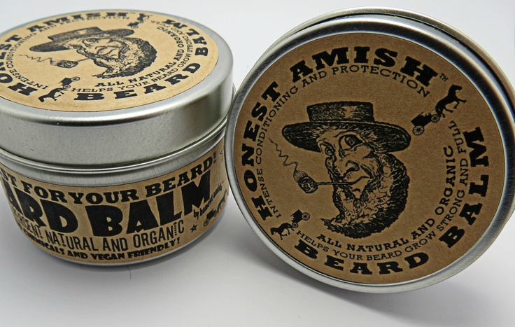 Honest Amish Beard Balm - this will be in husband's stocking!