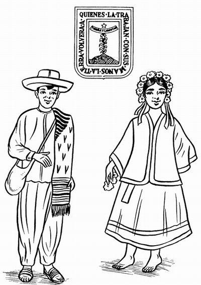 Traje Tipico De Jalisco Para Colorear Ranking De Que Viewletterco