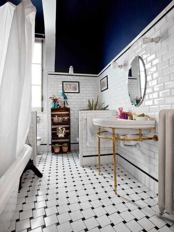 15 baños en blanco y negro nada aburridos