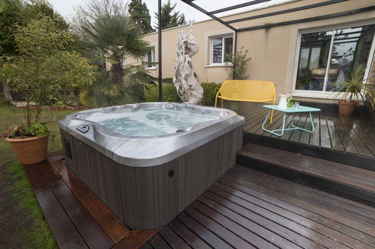 272 best images about spas jacuzzi en ext rieur on. Black Bedroom Furniture Sets. Home Design Ideas