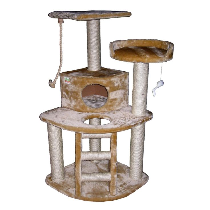 Have to have it. Go Pet Club Cat Tree - Beige - 47.5 in. $82.99: Cats, Pet Club, Condo House, 47 5H Inches, Pets, Tree Condo, Cat Trees, Club Cat