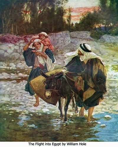 30 Best Images About Art Of The Bible Flight Into Egypt