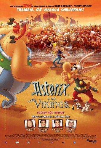 Asterix e os Vikings; animação; 2006; legendado; 78 min