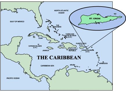 where is st croix located on a map here is a map of