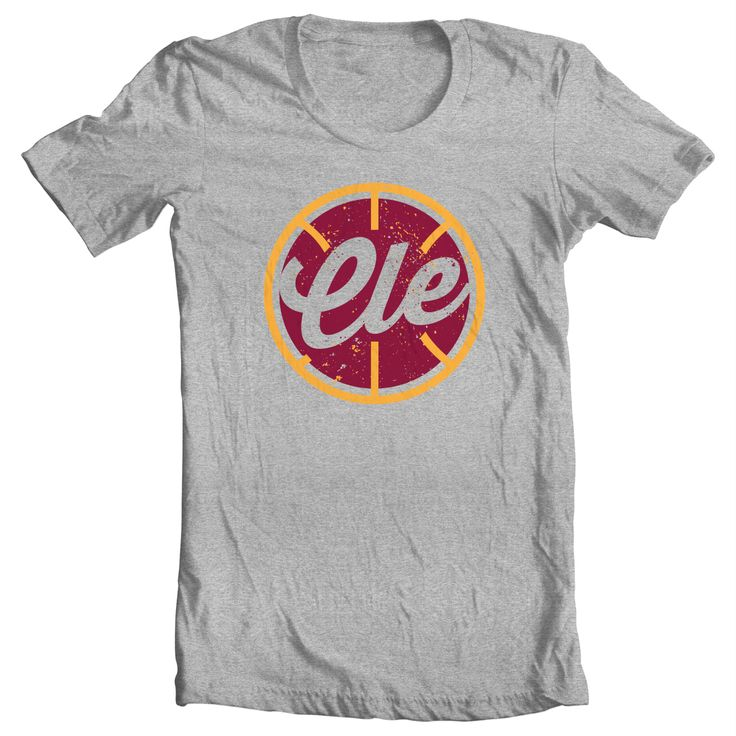 This is part of my NBA basketball series. This shirt is to represent Cleveland.