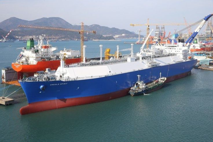 Ship Photos of the Day  Teekays MEGI LNG Carrier Creole Spirit Celebrates One Year in Operation