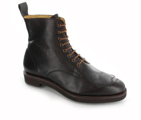 The ladies Zena boot by Crockett & Jones.