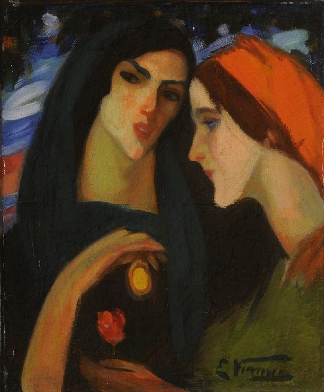 'Cabeças de Mulher' - Eduardo Viana (1881–1967)