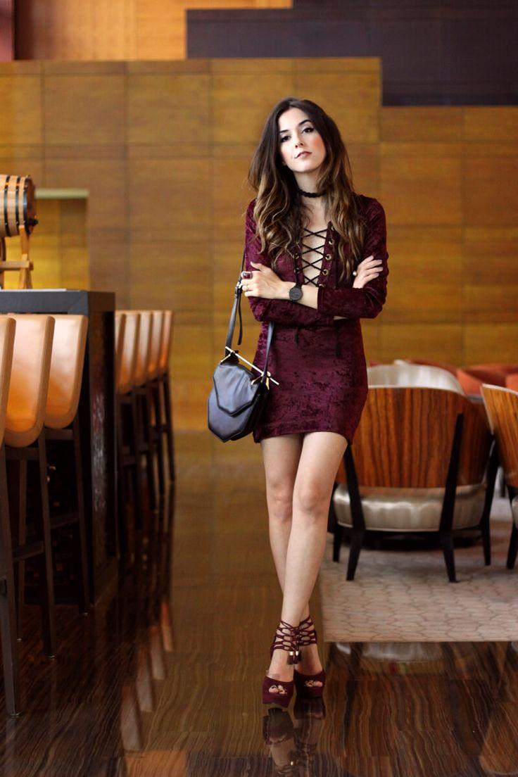 FashionCoolture - 03.06.2016 look du jour Inspireland velvet dress Miami outfit (7)