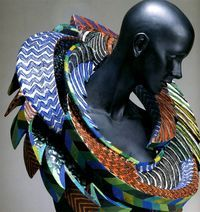 Marjorie Schick. Sculpture to wear.
