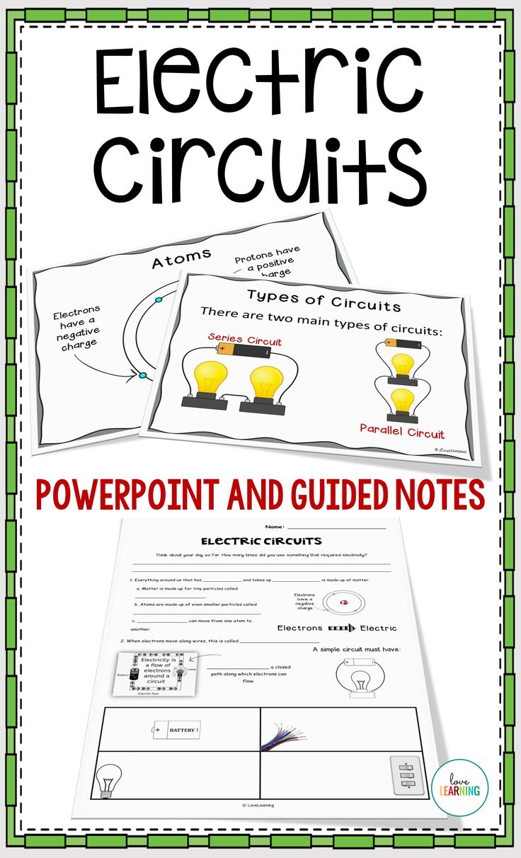 Uncategorized Series Circuits Worksheet 25 best series and parallel circuits ideas on pinterest simple electric powerpoint lesson guided notes lab video sheet