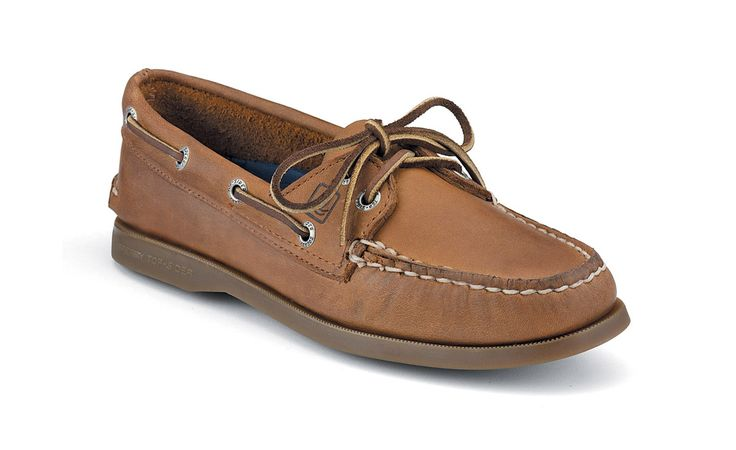 women's authentic original 2-eye Sperry boat shoes - in Sahara $80. want these so so badly