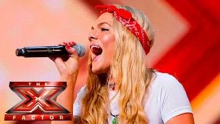 Soul singer Louisa Johnson covers Who's Loving You | Auditions Week 1 | The X Factor UK 2015 - YouTube