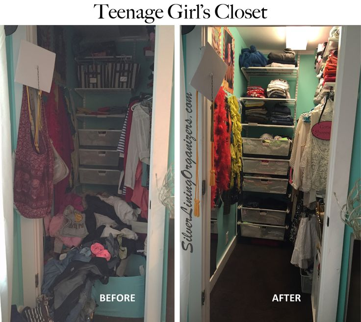 Silver Lining Organizers Llc Organized Closet Before