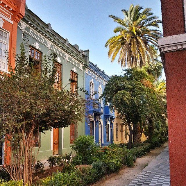 La cité Adriana Cousiño, une des trois dans l'historique Barrio Yungay. #SantiagodeChile #Chile #latergram