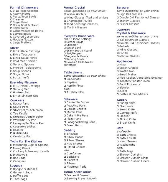 Wedding Gift No Registry: 25+ Best Ideas About Wedding Registry Checklist On