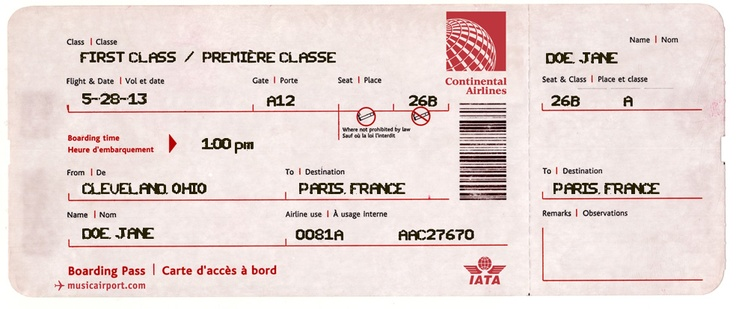 Travel Theme Fun! Fake plane ticket generatoryou fill in the - free ticket maker