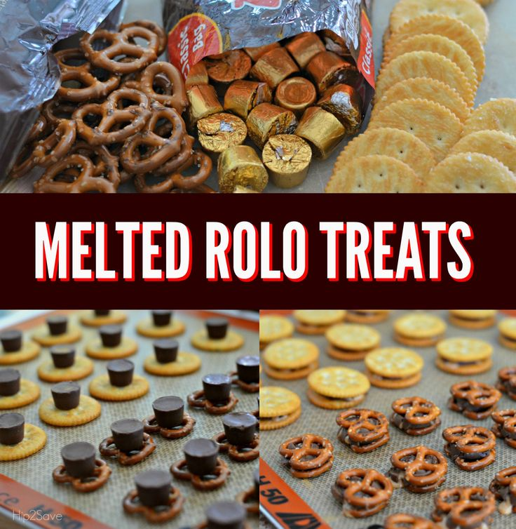 Melted Rolo Treats