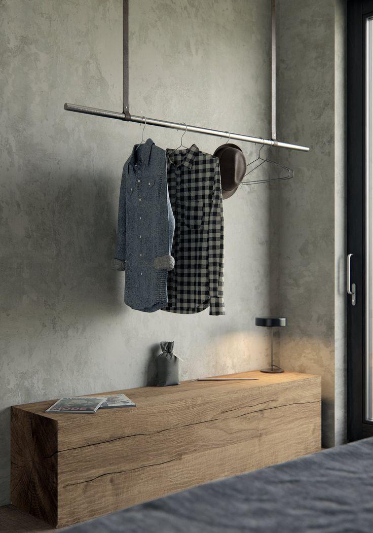 Wabi Sabi Apartment Garderobe Design Garderoben Eingangsbereich Wabi Sabi