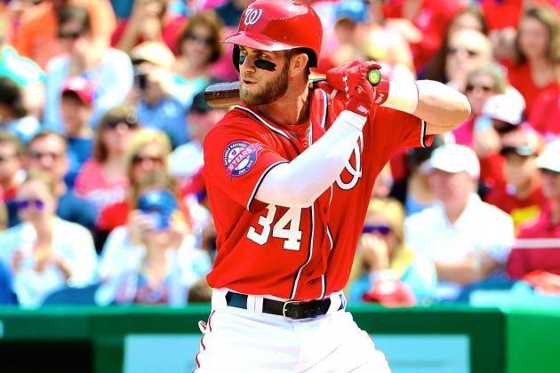 #MLB: Bryce Harper implantó una nueva marca de carreras anotadas en el mes de abril