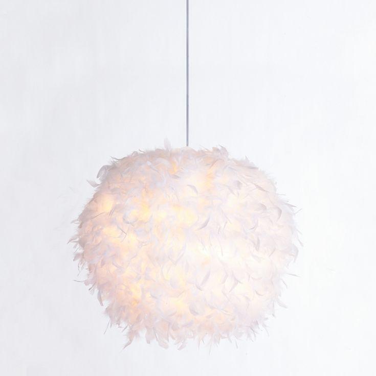 Pendelleuchte Taiva - Federn - 1-flammig