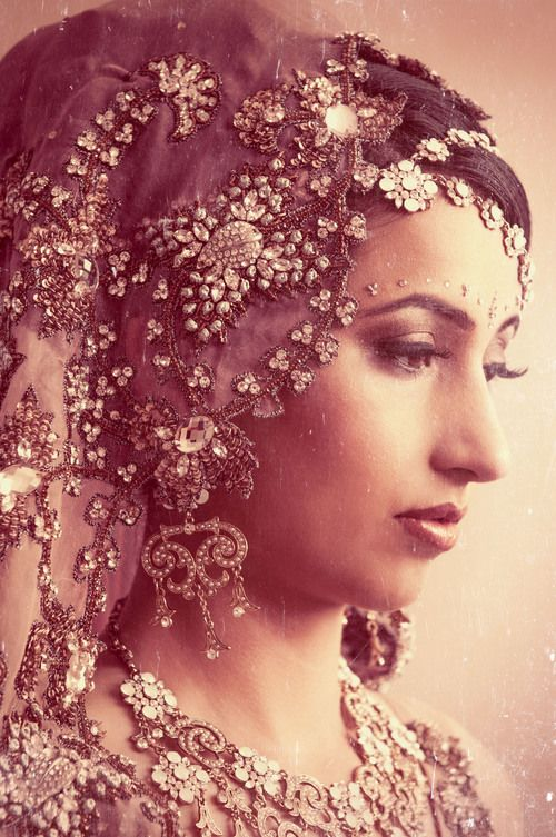 SikhandDread Antique Bridal Portrait