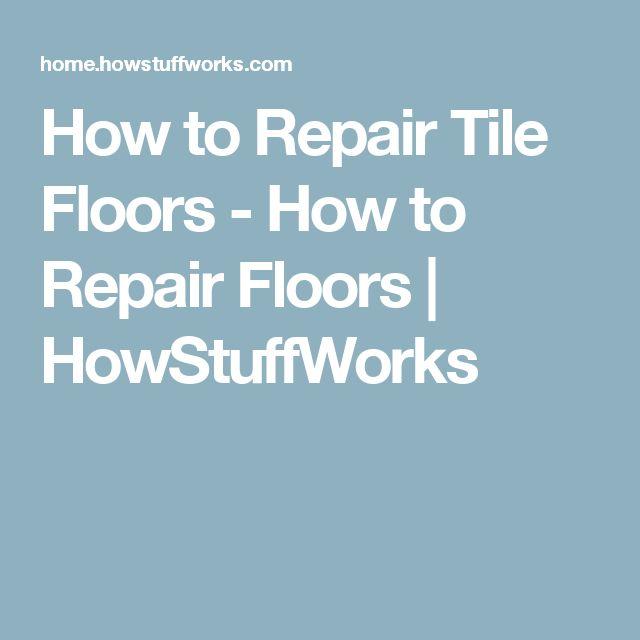 New How to Repair Floors