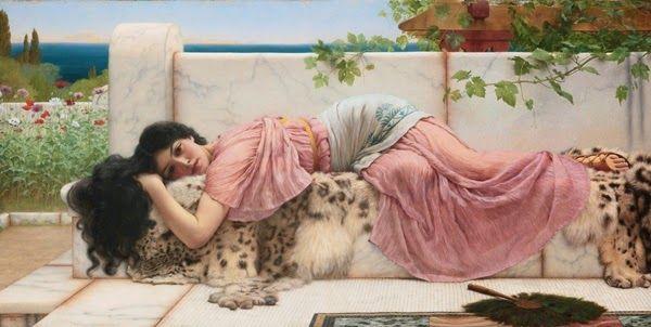 John William Godward - English painter 1861 - 1922