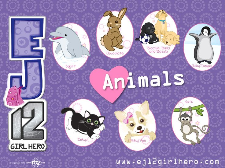 animals from the series EJ12 Girl Hero... Australians probably heard of it. It is only available in Australia.