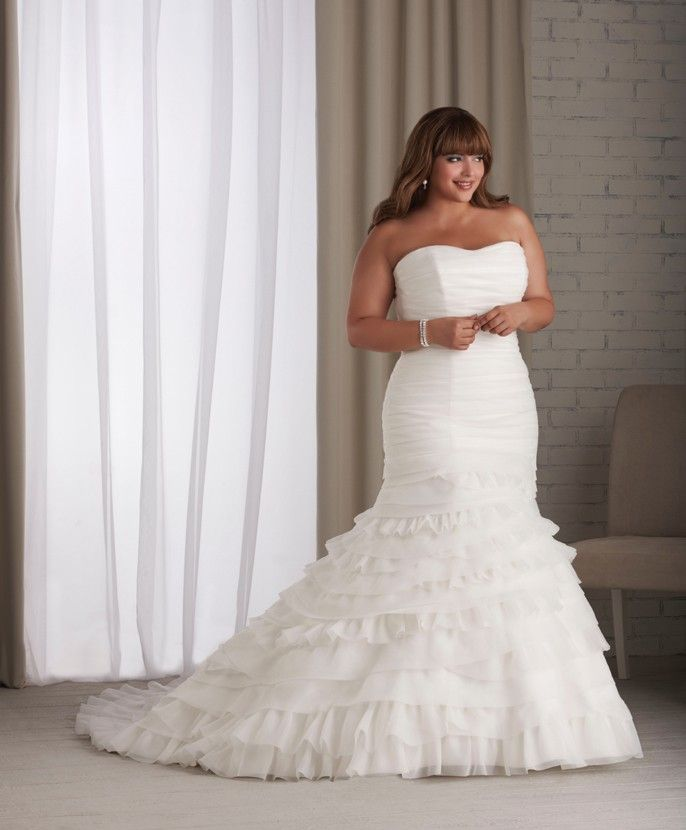 21 best Plus Sizes Wedding Dresses images on Pinterest | Homecoming ...