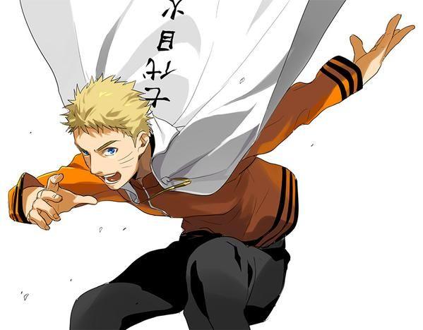 Indo além da caixinha: Naruto Uzumaki. nanadaime