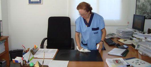 Despejar area de trabajo tarea pinterest for Empleo limpieza oficinas