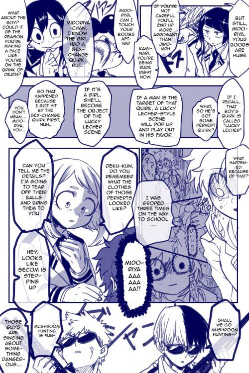 Boku no Hero Academia Misc — The rest of Fem!Deku (here's