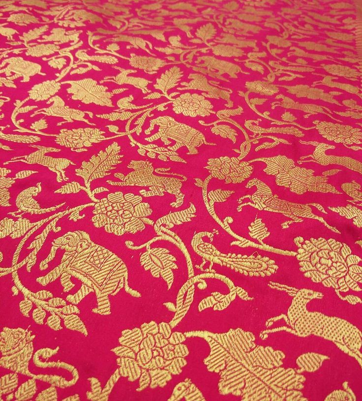 A saree for the Royals! This exquisite saree with animal motifs is called Shikaargah. Its unique design is perfect for those who want to make a bold statement. #banarasisaree #banaras #banarasisari #shikaargah #weddingsaree #uniquesaree #differentsaree #designersaree #designersaris #designersarees #madeinbanaras #madeinindia #madeinbenaras #fabricart #banarasifabric