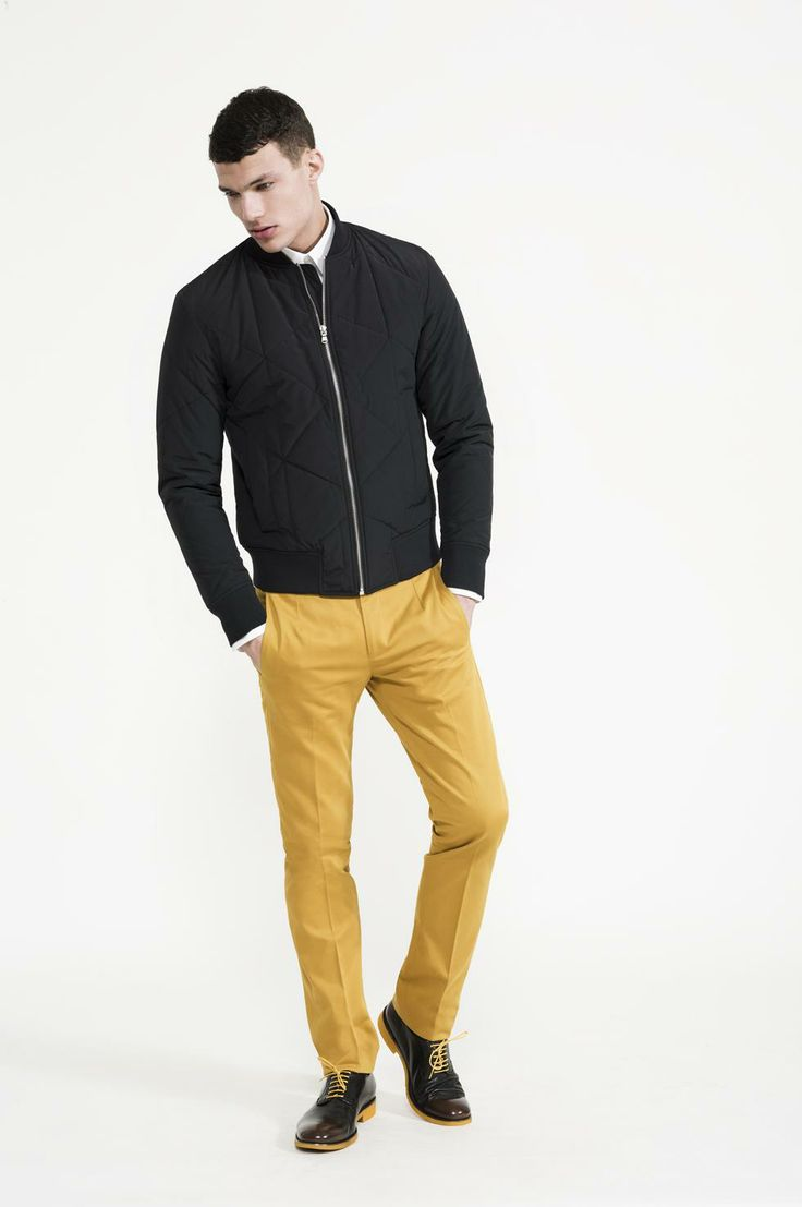 Calibre - Stretch Two Shirt | Quilted Bomber | Sanded Pant | Contrast Sole Lace up
