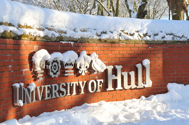 University of Hull Sign in Snow | by lbsmsp