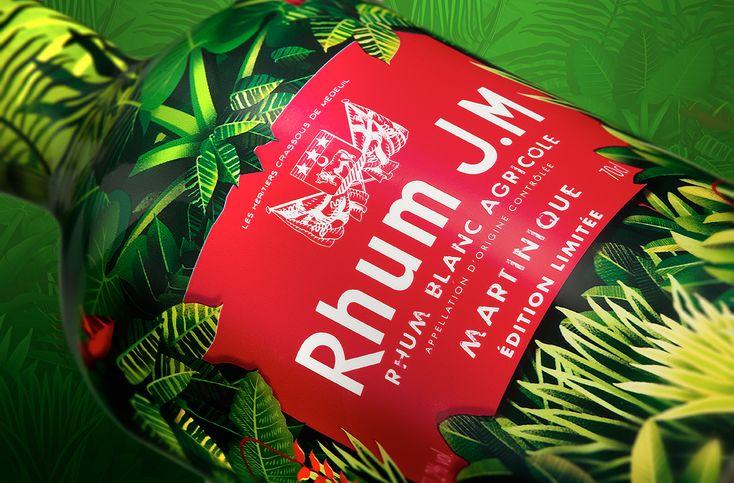 Rhum JM - Jungle Macouba on Packaging of the World - Creative Package Design Gallery