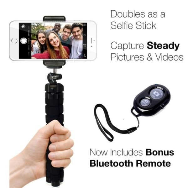 Handy Stativ Fernbedienung Selfie Ständer Handyhalterung