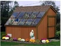 gardenshedgreenhousecombination plant protection m elmby greenhouseshed combination greenhouses make