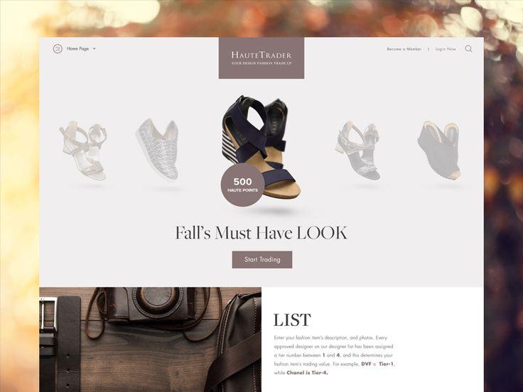 Haute Trader by ID Creative Design & Development