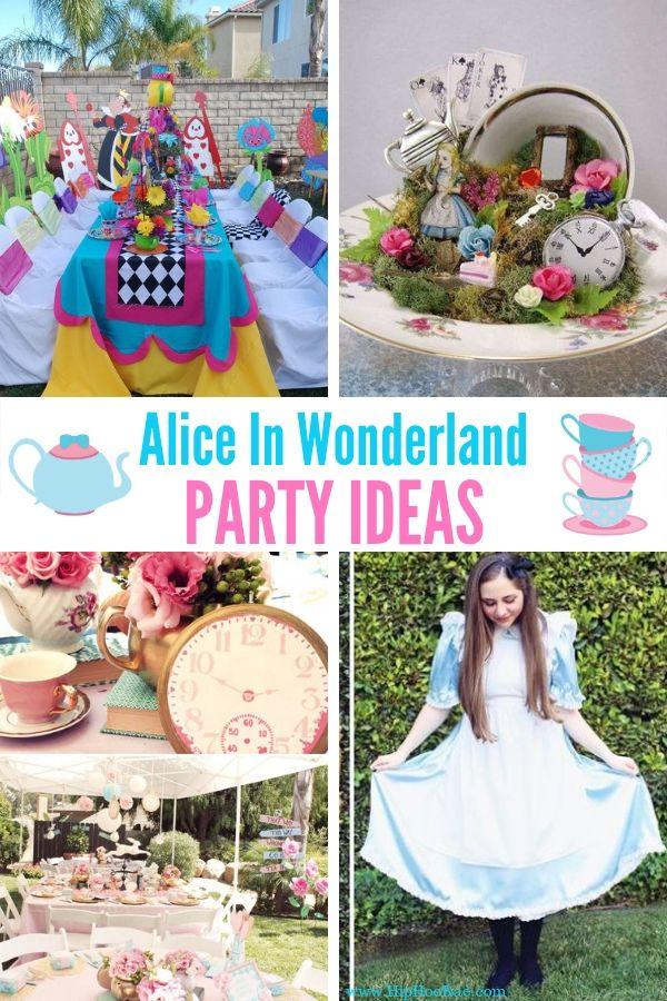 Alice In Wonderland Costumes For Kids Last Minute Alice In Wonderland Costume And Party Ideas Alice In Wonderland Costume Alice In Wonderland Party Wonderland Party