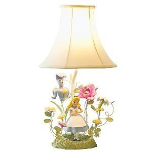Alice in the Garden Lamp