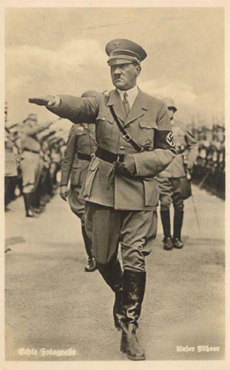卐 Der Führer of Germany Adolf Hitler (20 April 1889 - 30 April 1945) (via reinhardhimmler)