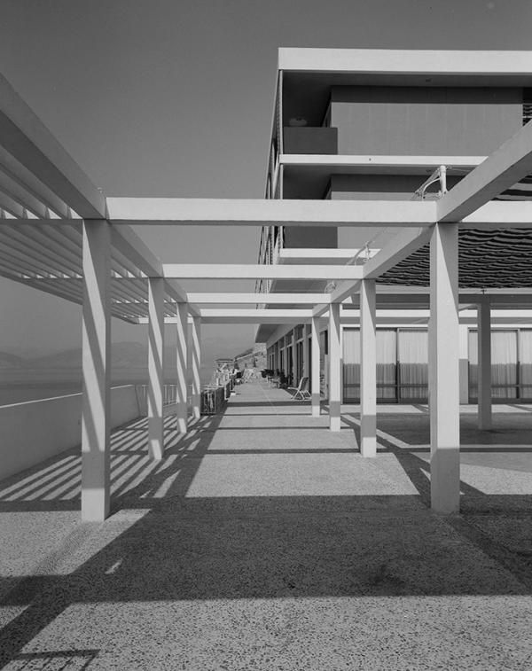 1960 Xenia Hotel, Nafplio | Ioannis Triantafyllidis Source: Photographic Archives of Benaki Museum