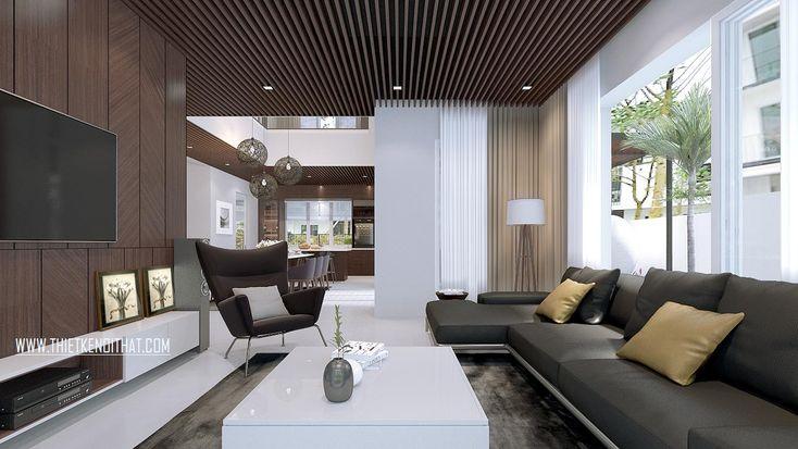 Thiết kế biệt thự hiện đại tại Parkcity