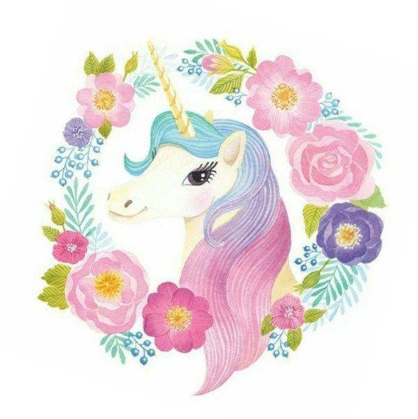 Para Imprimir Ojos Unicornio De