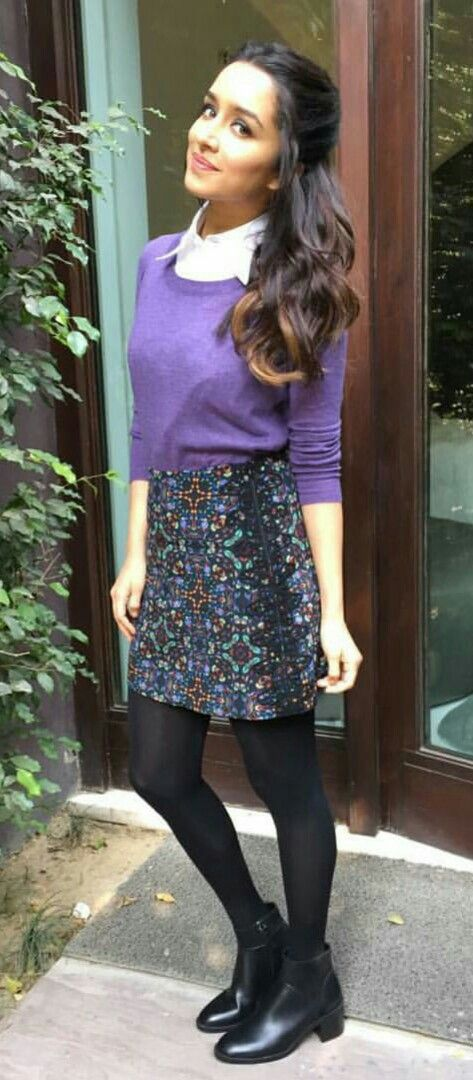 Shraddha Kapoor.....way of dressing....where will we find that